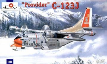 C-123J ´Provider´ USAF aircraft · AM 1406 ·  A-Model · 1:144