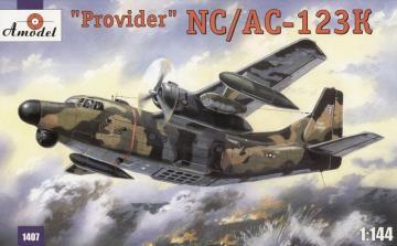 NC/AC-123K ´Provider´ USAF aircraft · AM 1407 ·  A-Model · 1:144
