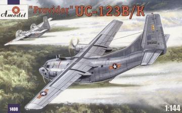 UC-123K ´Provider´ USAF aircraft · AM 1408 ·  A-Model · 1:144