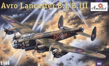 Avro Lancaster B.I/B.III · AM 1411 ·  A-Model · 1:144