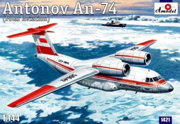 Antonov An-74 Polar · AM 1421 ·  A-Model · 1:144