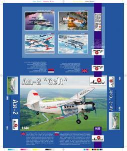 Antonov An-2 ´Colt´ · AM 1422 ·  A-Model · 1:144