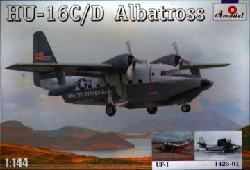 HU-16C/D Albatross + Decal UF-1 (1424) · AM 142301 ·  A-Model · 1:144
