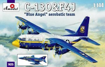 C-130 & F4J ´Blue Angel´ Aerobatic team · AM 1425 ·  A-Model · 1:144