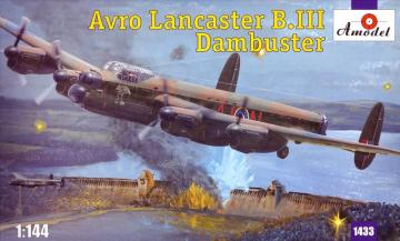 Avro Lancaster B.III Dambuster · AM 1433 ·  A-Model · 1:144