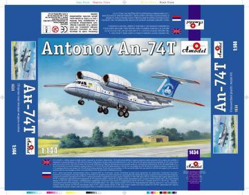Antonov An-74T · AM 1434 ·  A-Model · 1:144