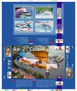 Antonov An-2 ´Cobra´ · AM 1435 ·  A-Model · 1:144