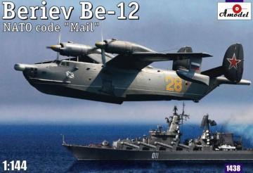 Beriev Be-12 Mail Soviet amphibious airc · AM 1438 ·  A-Model · 1:144