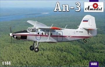 Antonov An-3 Soviet Aircraft · AM 1440 ·  A-Model · 1:144