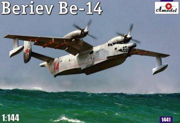Beriev Be-14 Soviet rescue aircraft · AM 1441 ·  A-Model · 1:144