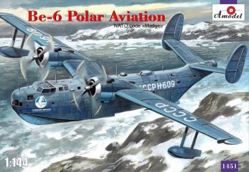 Beriev Be-6 reconnaissance a.patrol aircraft · AM 1451 ·  A-Model · 1:144