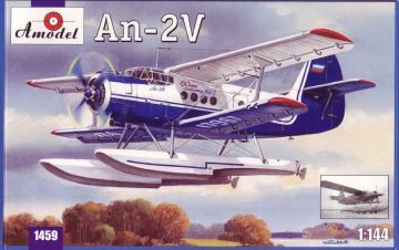 Antonov An-2V floatplane · AM 1459 ·  A-Model · 1:144