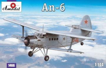 Antonov An-6 · AM 1466 ·  A-Model · 1:144