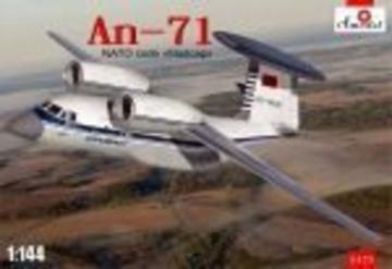 Antonov An-71 Madcap Soviet AWACS aircra · AM 1475 ·  A-Model · 1:144