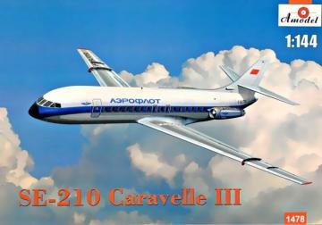 SE-210 Carawella III · AM 1478 ·  A-Model · 1:144