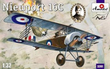 Nieuport 16C (A134) · AM 3201 ·  A-Model · 1:32