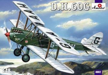 De Havilland DH.60G Gipsy Moth · AM 4802 ·  A-Model · 1:48