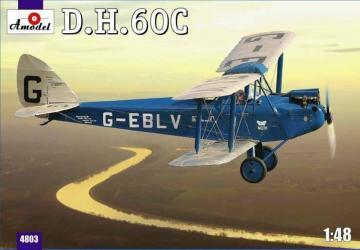 De Havilland DH.60C Cirrus Moth · AM 4803 ·  A-Model · 1:48
