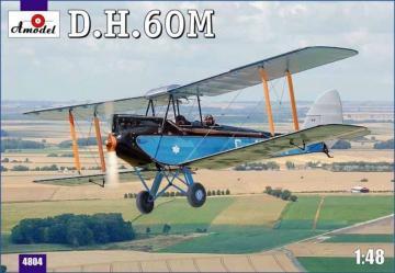 De Havilland DH.60M Metal Moth · AM 4804 ·  A-Model · 1:48