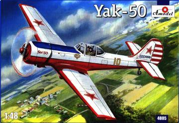 Yakolev Yak-50 · AM 4805 ·  A-Model · 1:48