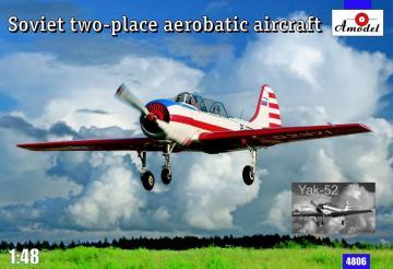 Yak-52 Soviet two-seat aerobatic airc. · AM 4806 ·  A-Model · 1:48