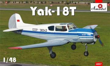 Yakovlev Yak-18T Aeroflot · AM 4807 ·  A-Model · 1:48