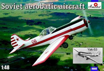 Yak-53 Soviet aerobatic aircraft · AM 4808 ·  A-Model · 1:48