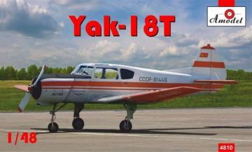 Yakovlev Yak-18T Red Aeroflot · AM 4810 ·  A-Model · 1:48
