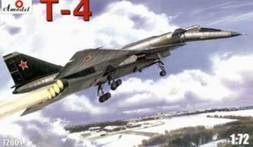 T-4 (SOTKA) Soviet supersonic strategic · AM 72001 ·  A-Model · 1:72