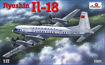 Ilyushin Il-18 · AM 72011 ·  A-Model · 1:72