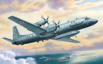 Ilyushin Il-20/24 · AM 72013 ·  A-Model · 1:72