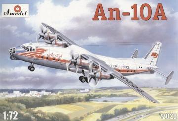 Antonov An-10 · AM 72020 ·  A-Model · 1:72