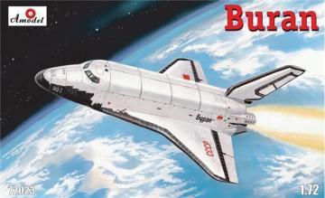 Buran Soviet shuttle · AM 72023 ·  A-Model · 1:72