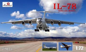 Ilyushin II-78 Inflight refuelling tanker · AM 72033 ·  A-Model · 1:72
