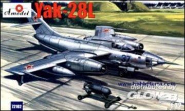 Yakovlev Yak-28L Soviet bomber · AM 72102 ·  A-Model · 1:72