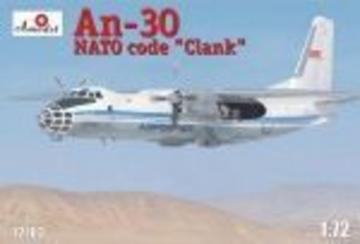 Antonov AN-30 Clank Soviet aerial cartog · AM 72103 ·  A-Model · 1:72