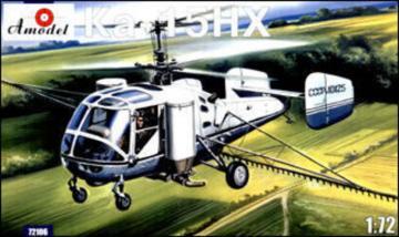 Kamov Ka-15NH agricultural helicopter · AM 72106 ·  A-Model · 1:72