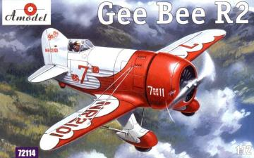 Gee Bee Super Sportster R2 Aircraft · AM 72114 ·  A-Model · 1:72