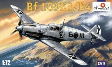 Messerschmitt Bf 109 E-3/E-4 · AM 72117 ·  A-Model · 1:72