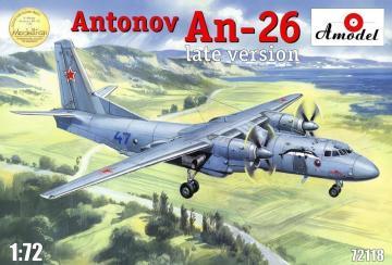 Antonov An-26, late version · AM 72118 ·  A-Model · 1:72