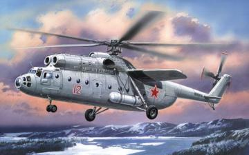 Mil Mi-6 Soviet helicopter, early · AM 72119 ·  A-Model · 1:72
