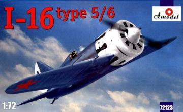 I-16 type 5/6 Soviet fighter · AM 72123 ·  A-Model · 1:72