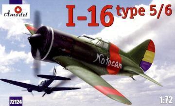 I-16 type 5/6 Soviet fighter · AM 72124 ·  A-Model · 1:72