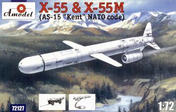 KH-55 & KH-55M ´AS-15 Kent´ strategic mi · AM 72127 ·  A-Model · 1:72
