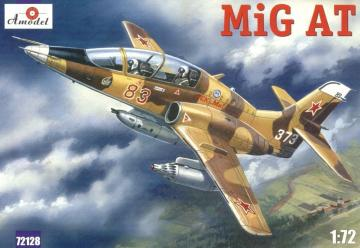 MiG-AT (late) Russian modern trainer air · AM 72128 ·  A-Model · 1:72