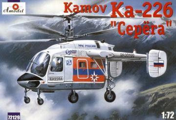 Kamov Ka-226 ´Serega´ Russian helicopter · AM 72129 ·  A-Model · 1:72