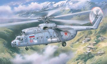 Mil Mi-6 Soviet helicopter, late · AM 72131 ·  A-Model · 1:72