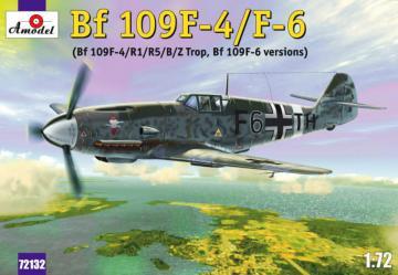 Messerschmitt Bf 109 F-4/F-6 · AM 72132 ·  A-Model · 1:72