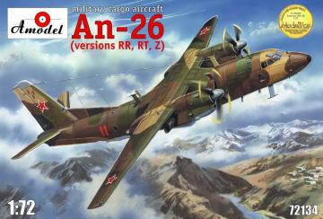 Antonov An-26 RR,RT,Z version, military · AM 72134 ·  A-Model · 1:72