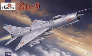 Su-9 Soviet fighter-interceptor · AM 72135 ·  A-Model · 1:72